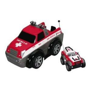 DRV Rescue Truck and ATV Toys & Games