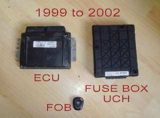 Renault Megane & Scenic Immobilizer Ecu Set 99 To 02