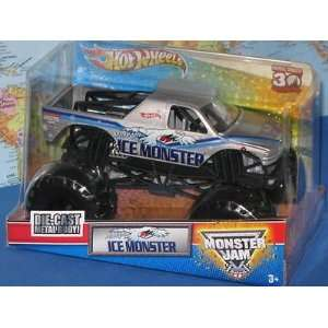 ICE Monster Jam 124 Scale Die Cast Metal Body Official Monster