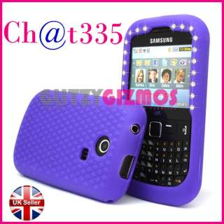SILICONE GEL CASE COVER FOR SAMSUNG CHAT CH@T335 S3350