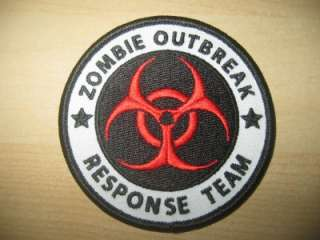 ZOMBIE OUTBREAK RESPONSE TEAM patch Iron on ARMY MORALE ISAF ACU
