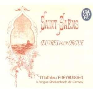 Saint Saens Oeuvres Pour Orgue Camille Saint Saens