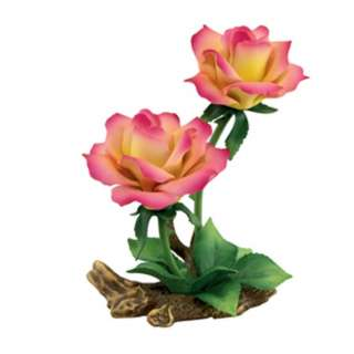 Andrea by Sadek Double Hybrid Tea Rose Porcelain Flower