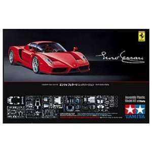 Tamiya   1/24 Enzo Ferrari Red Version (Plastic Model