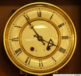 VIENNESE VINTAGE WALL CLOCK S.B.S. FEINTECHNIK MOVEMENT
