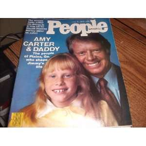 PEOPLE WEEKLY MAGAZINE (JIMMY & AMY CARTER ISSUE)  JULY