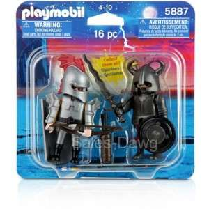 Playmobil 5887 Iron Knights II 16 piece Set NEW