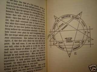 OCCULT GRIMOIRE DE NIGROMANCIA ROGER BACON MAGIC CIRCLE SPIRIT