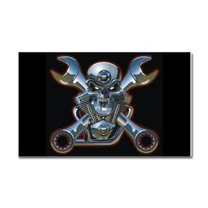 Car Magnet 20 x 12 Motorhead Skull Wrenches: Everything