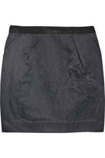Elizabeth and James Claire twill mini skirt   88% Off Now at THE