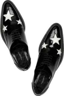 Dolce & Gabbana Star cutout patent leather brogues   50% Off Now at