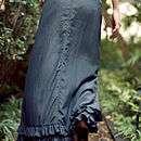 cora silk ruffle skirt by silk & sawdust