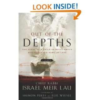) Rabbi Israel Meir Lau, Elie Wiesel, Shimon Peres Books