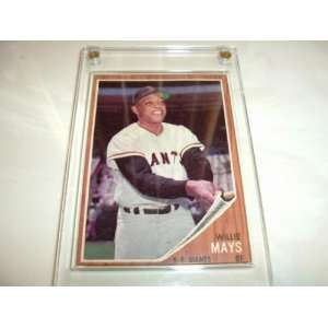 1962 Topps WILLIE MAYS #300 San Francisco Giants