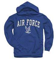 Air Force Falcons Royal Perennial II Hooded Sweatshirt