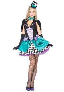 Mad Hatter Costume   Leg Avenue Alice in Wonderland Costumes