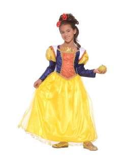 Girls Deluxe Snow White Costume  Girls Fairytale Halloween Costumes