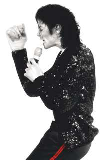 Boys Michael Jackson Billie Jean Costume Jacket   Authentic Michael