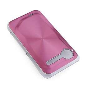 cd pc grão mais células de alumínio caso capa para celular htc s