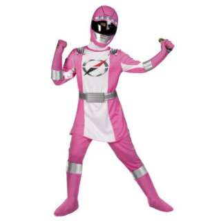 Power Rangers Operation Overdrive Pink Ranger Complete Child Costume