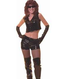 Hot Babe Costume for Adults  Seventies Street Walker Costume