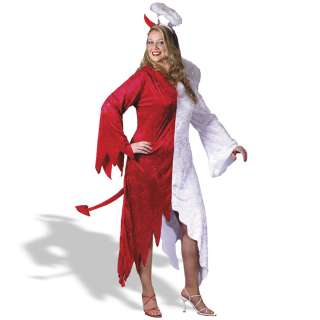Devil, 1/2 Angel Plus Adult Costume     1618115
