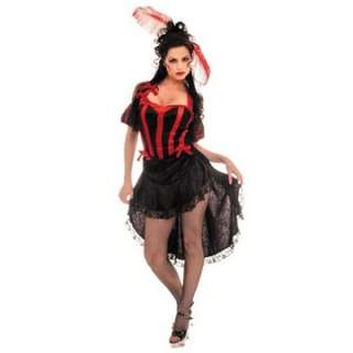Adult Sexy Can Can Costume   Sexy Dancer Costumes   15UR28042