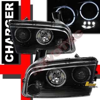 CHARGER SE SXT SRT8 HALO PROJECTOR HEADLIGHTS & LED TAIL LIGHTS