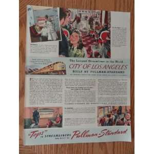 )Original vintage 1940 Colliers Magazine Print Art.