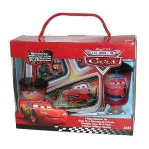 Disney Cars 5 Piece Mealtime Window Box Set [Toy] Toys & Games