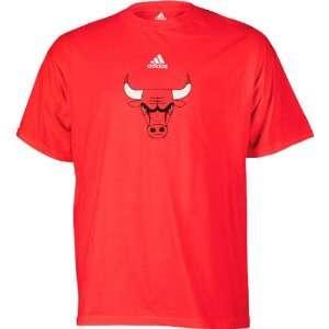 Chicago Bulls adidas Toddler Primary Logo Short Sleeve T Shirt