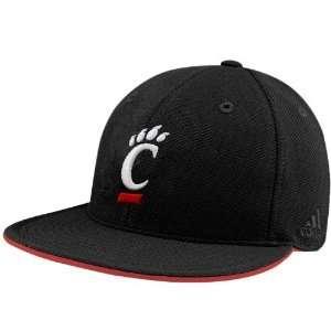 adidas Cincinnati Bearcats Black Pique Mesh Fitted Hat