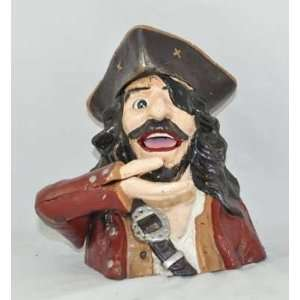 Cast Iron Pirate Mechanical Bank
