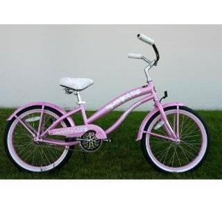 2006 20 Kids Girls Beach Cruiser Bicycle Bike Pink