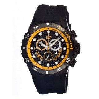 Steel Case with Black Rubber Strap Watch CAT Watches Watches