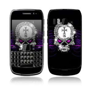 Goth Bling Skull Decorative Skin Cover Decal Sticker for