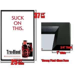 Framed True Blood Poster Suck Trublood Vampire Fr1549