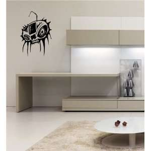 Boombox Skull Tables Wall Vinyl Sticker Decals Art Mural