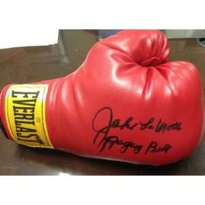 Boxing Glove Raging Bull PSA DNA COA   Autographed Boxing Gloves
