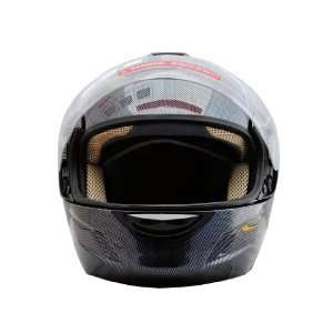 Carbon Fiber Flip Up Open Face Street Motorcycle Helmet
