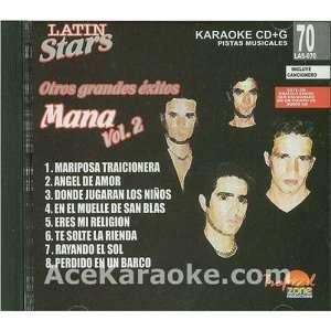Karaoke Music CDG Latin Stars Vol. 70   Man? II Karaoke CDG