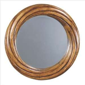 Bliss Charming Twirl Round Wall Mirror Finish Ancestor