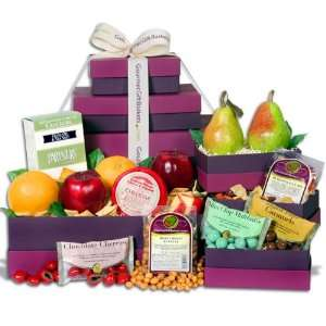Holiday Harvest Gift Tower: Grocery & Gourmet Food