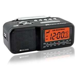 TRUE NIGHTVISION MIDLAND AM/FM CLOCK RADIO COVERT CAMERA