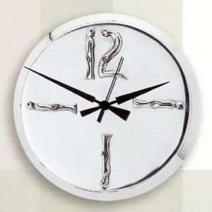 Carrol Boyes Clocks Clock Silver Large Woman Man