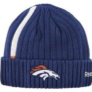 Denver Broncos NFL Sideline Coaches Cuffed Knit Hat