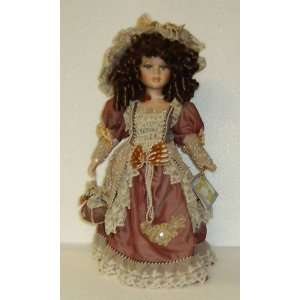 Cathay Collection Porcelain Doll; 17 Marisa: Toys & Games