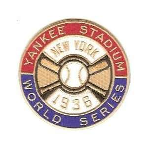 1936 New York Yankees World Series Patch Cooperstown Collection