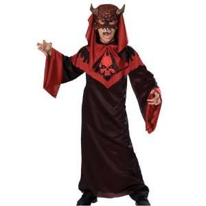Horrorland Devil Robe Child Costume   Small Toys & Games