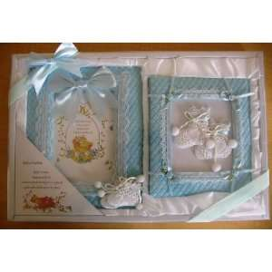 4x6 Baby Couture Boys Picture Frame and Album: Baby
